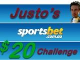 Round 13 – Justo's Sportsbet $20Challenge
