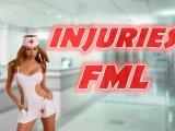 Injuries… FML