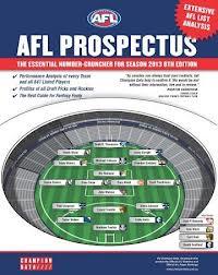 afl prospectus 2013